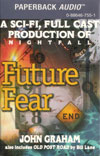 """Future Fear"" cassette design from Durkin-Hayes Paperback Audio"